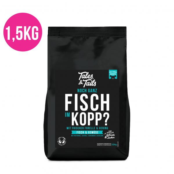 Noch ganz Fisch im Kopp? 1,5kg
